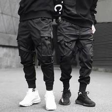 Loose, men fashion, pants, polyesterfiber