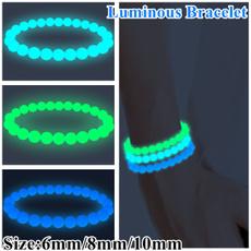 fluorescentbeadsbracelet, diybead, Luminous, beadsampjewelrymaking