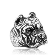 titanium steel, animalring, Jewelry, dogring