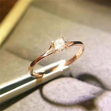 wedding ring, Women Ring, gold, Topaz