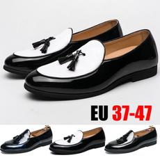 loafersslipon, Plus Size, leather shoes, flat shoe