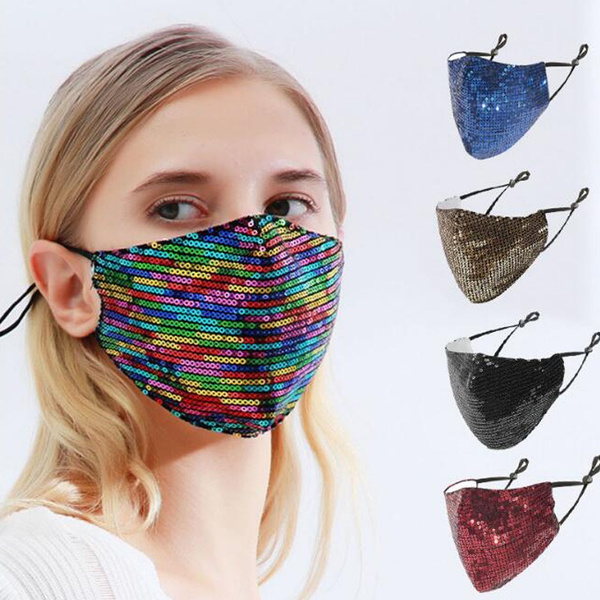 pm25mask, womenmask, mouthmuffle, sequinmask