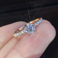 Sterling, White Gold, Bridal wedding, 925 sterling silver
