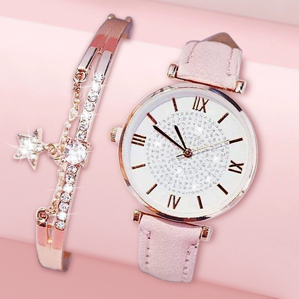 Fashion, Watch, Rhinestone, Watches