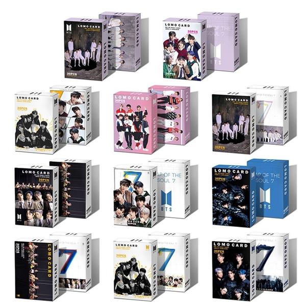 K-Pop, btsphotocard, mapofthesoul7, Postcards