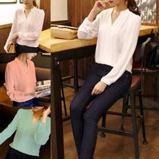 blouse, sleeve v-neck, Fashion, Shirt