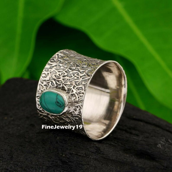 Sterling, Antique, Turquoise, Jewelry