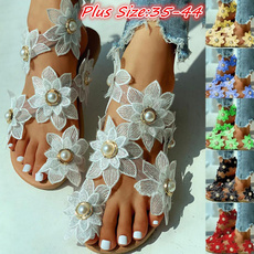beach shoes, Sandals, summersandal, chiffon