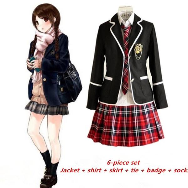 School Uniforms, School, Cosplay Costume, shortskirtschooluniform