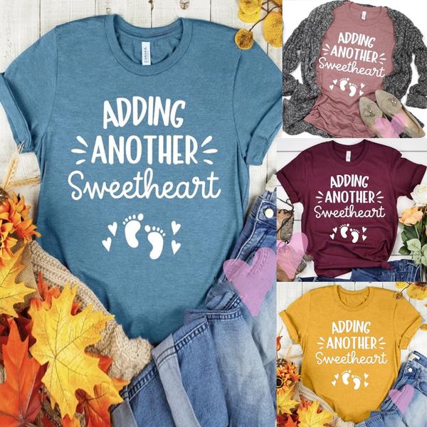 pregnanttshirt, sweetheart, Fashion, Graphic T-Shirt