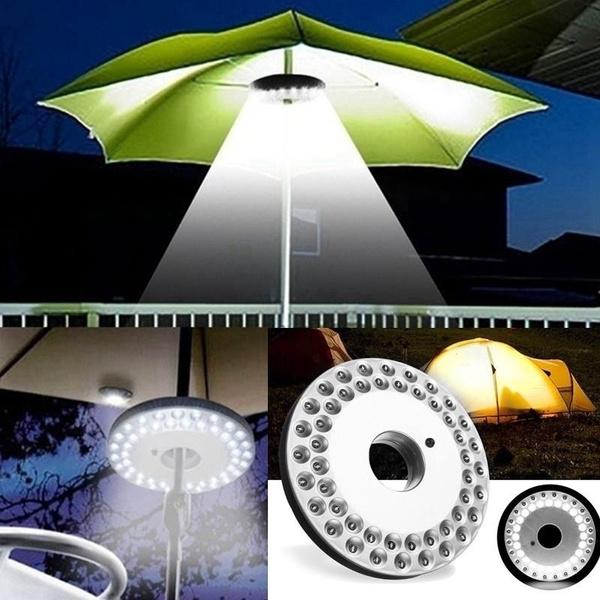 Outdoor, Umbrella, umbrellalight, camping
