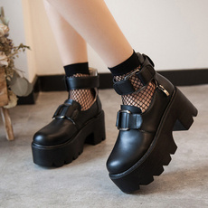 jkshoe, Lolita fashion, College, Waterproof