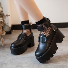 jkshoe, Lolita fashion, College, Waterproof