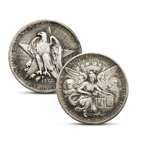 silvercoin, halfdollar, Jewelry, usacoin