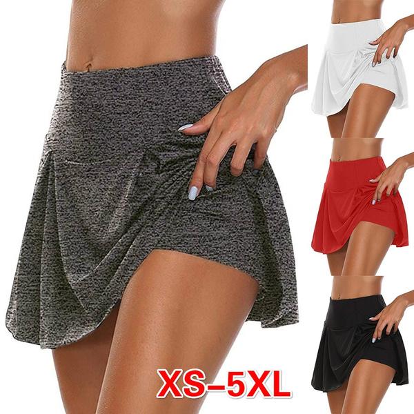 Summer, summer skirt, looseskirt, Fitness