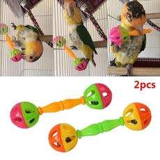 doubleheaded, Toy, Parrot, Bell
