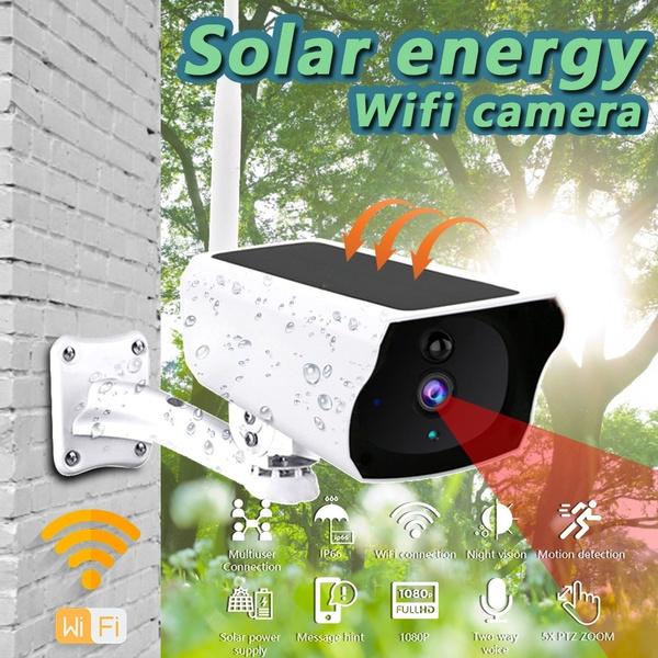 Outdoor, Solar, camerasurveillance, Camera