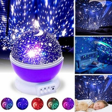 ledrotatingnightlamp, Star, projector, Battery