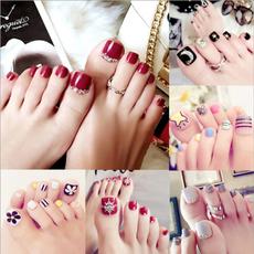 wearfaketoenail, Belleza, toenail, falsefootnail