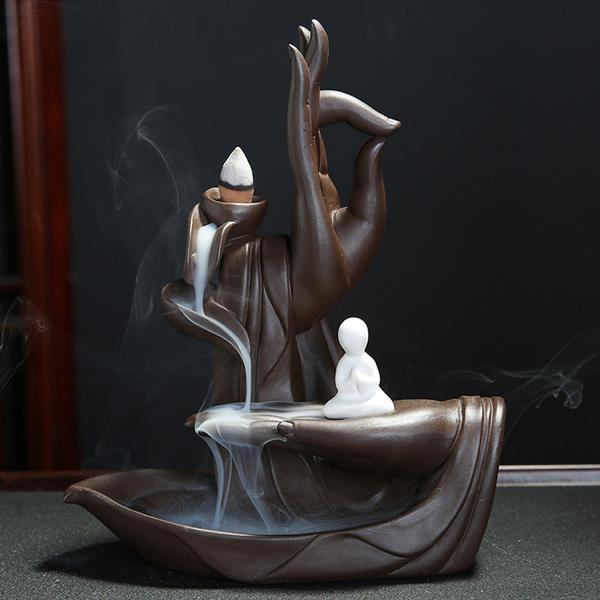 smokeincenseburner, censerholder, Home & Living, Ceramic