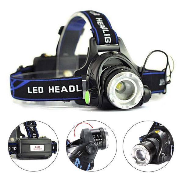 torchlight, Flashlight, Head, waterproofheadlamp