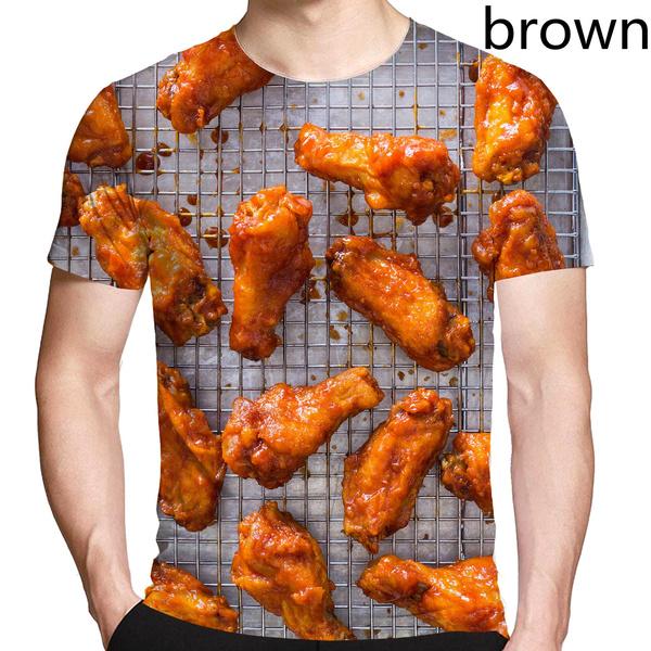 Funny, Mens T Shirt, friedchicken, Shirt