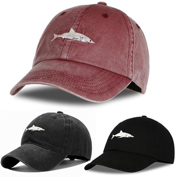sports cap, Outdoor, Shark, capsformen