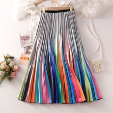 bigswing, rainbow, long skirt, Fashion
