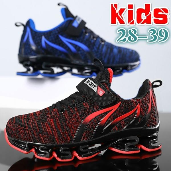 Children Casual Velcro Shoes Boys Anti