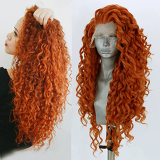 wig, Synthetic Lace Front Wigs, Fiber, Cosplay