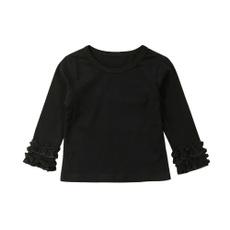 Shirts & Tops, ruffle, kidsgirltop, Sleeve