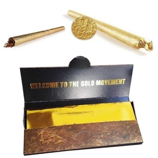 smokingcigarettepaper, goldcigarettesrollingpaper, Jewelry, gold