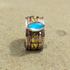 Sterling, Antique, rainbow, Jewelry