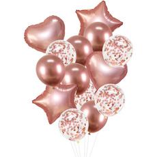 Heart, decorativeballoon, airballoon, Star