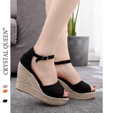Summer, Flip Flops, Sandals, velvet