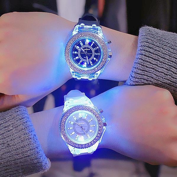LED Watch, Fashion, silicone watch, christmaspresent