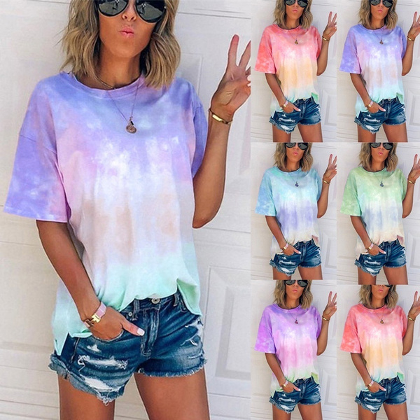 Summer, Plus Size, Loose, short sleeves