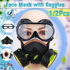 chemicalfilter, respiratormask, eyegoggle, antigasmask