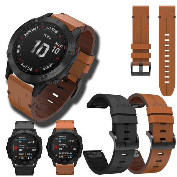leather, garminfenix5, Jewelry, forgarminfenix5x
