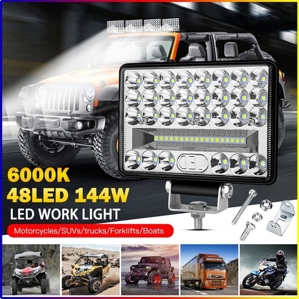 miniledlight, mountingbracket, carworklight, drivingfoglamp