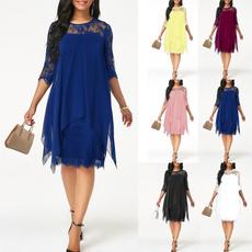 Mini, Lace Dress, short dress, chiffon
