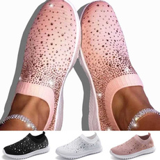 Flats, Sneakers, meshshoe, Sparkly