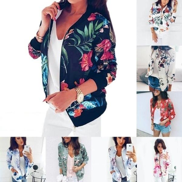 casual coat, Shorts, floraljacket, Fashion
