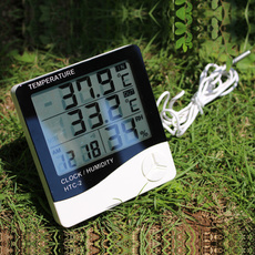 digitaltemperaturehumiditymeter, thermometerhygrometer, Clock, outdoorthermometer