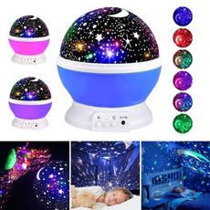 ledrotatingnightlamp, Star, projector, Gifts