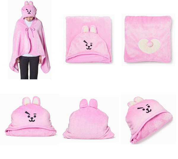 K-Pop, cute, hooded, Blanket