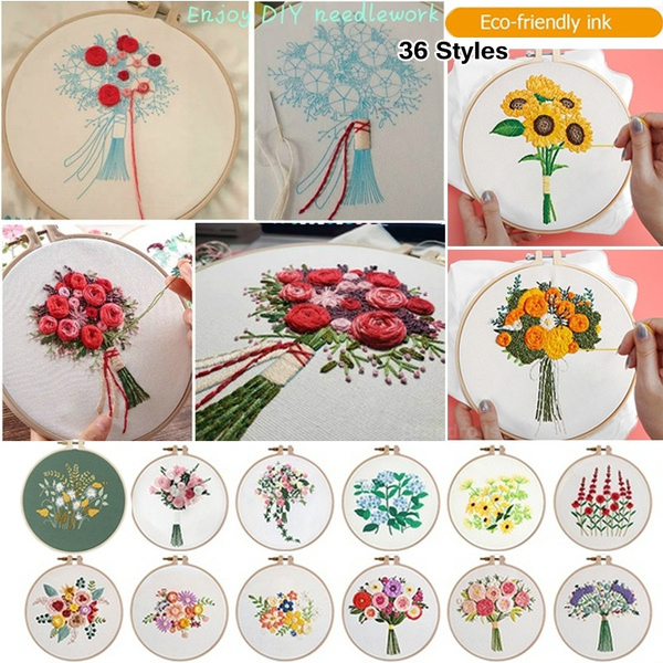 crossstitch, sewingtool, Flowers, embroiderythread