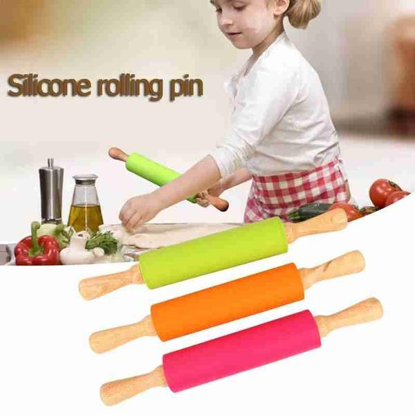 Mini, Baking, Pins, siliconerollstick