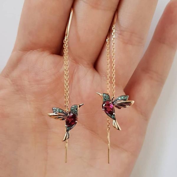 Stud Earring, tasselsearring, Dangle Earring, Romantic