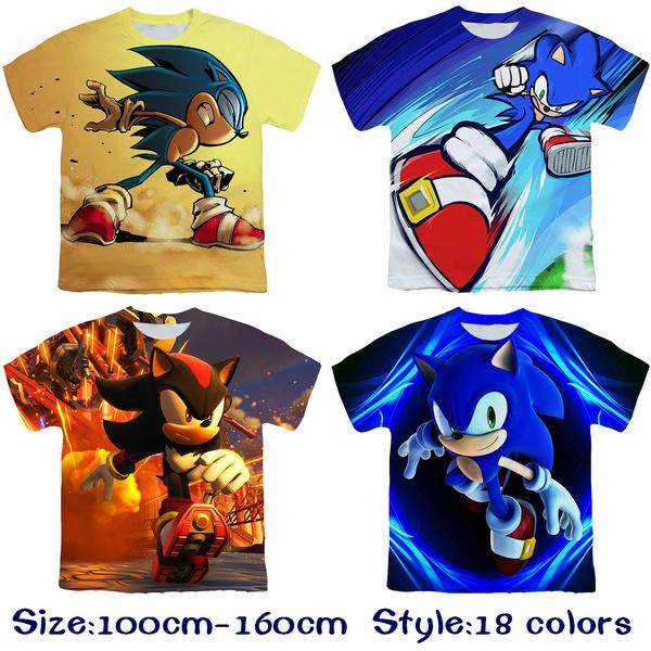 Tops & Tees, sonictshirt, Shirt, Sleeve